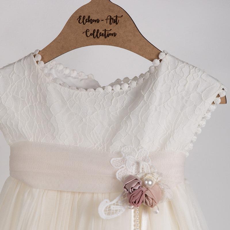 Βαπτιστικά ρούχα για κορίτσι - Elekon Art | Χειροποίητα πακέτα βάπτισης, πακέτα βάπτισης DIY